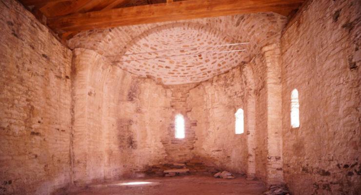 Restauració de Santa Maria de la Serra