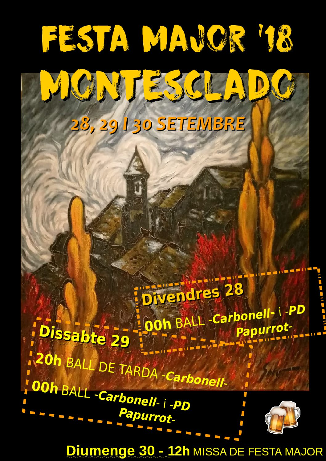 Festa Major de Montesclado 2018